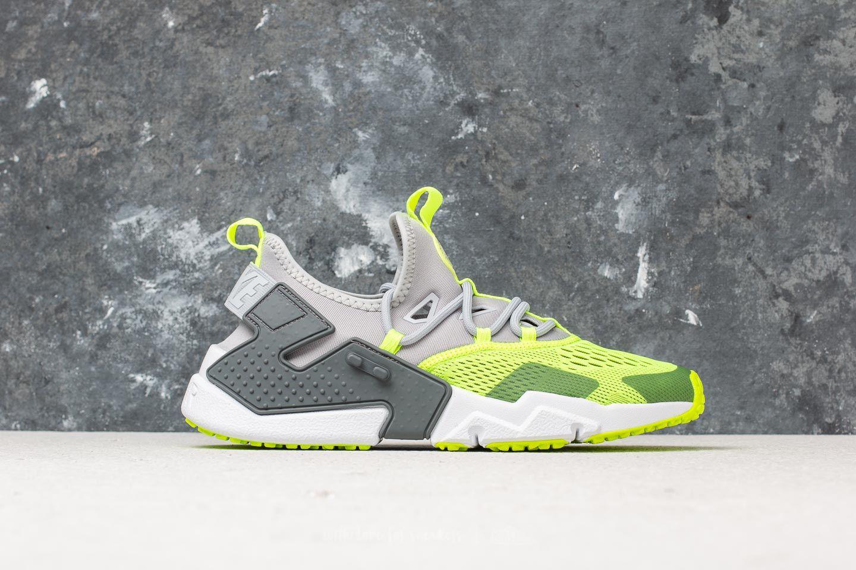 f256c5cc60834 Lyst - Nike Air Huarache Drift Breathe Wolf Grey  Volt-dark Grey ...
