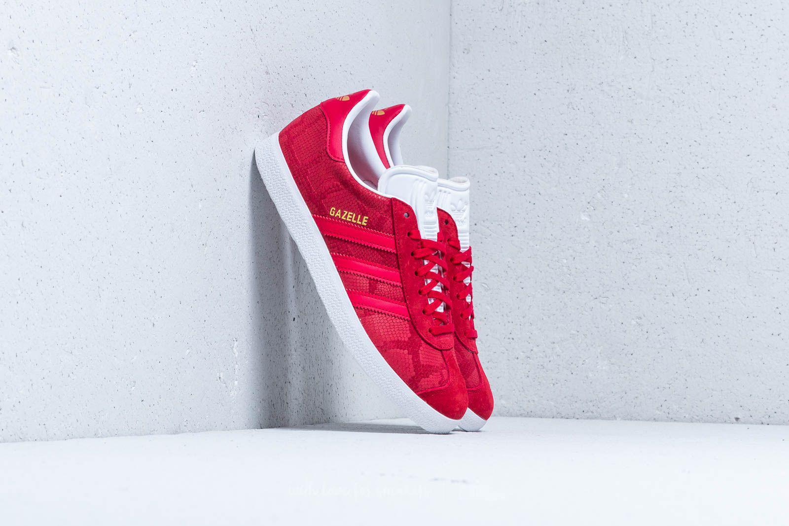 0317fc3910ca Lyst - adidas Originals Adidas Gazelle W Bold Red  Bold Red  Ftw ...