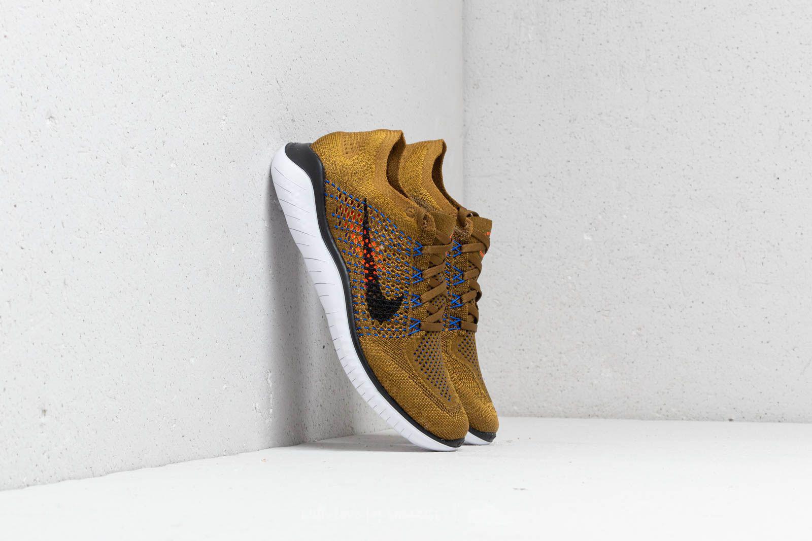 Lyst - Nike Free Run Flyknit 2018 Olive Flak  Black-desert Moss for Men ccd6f7690