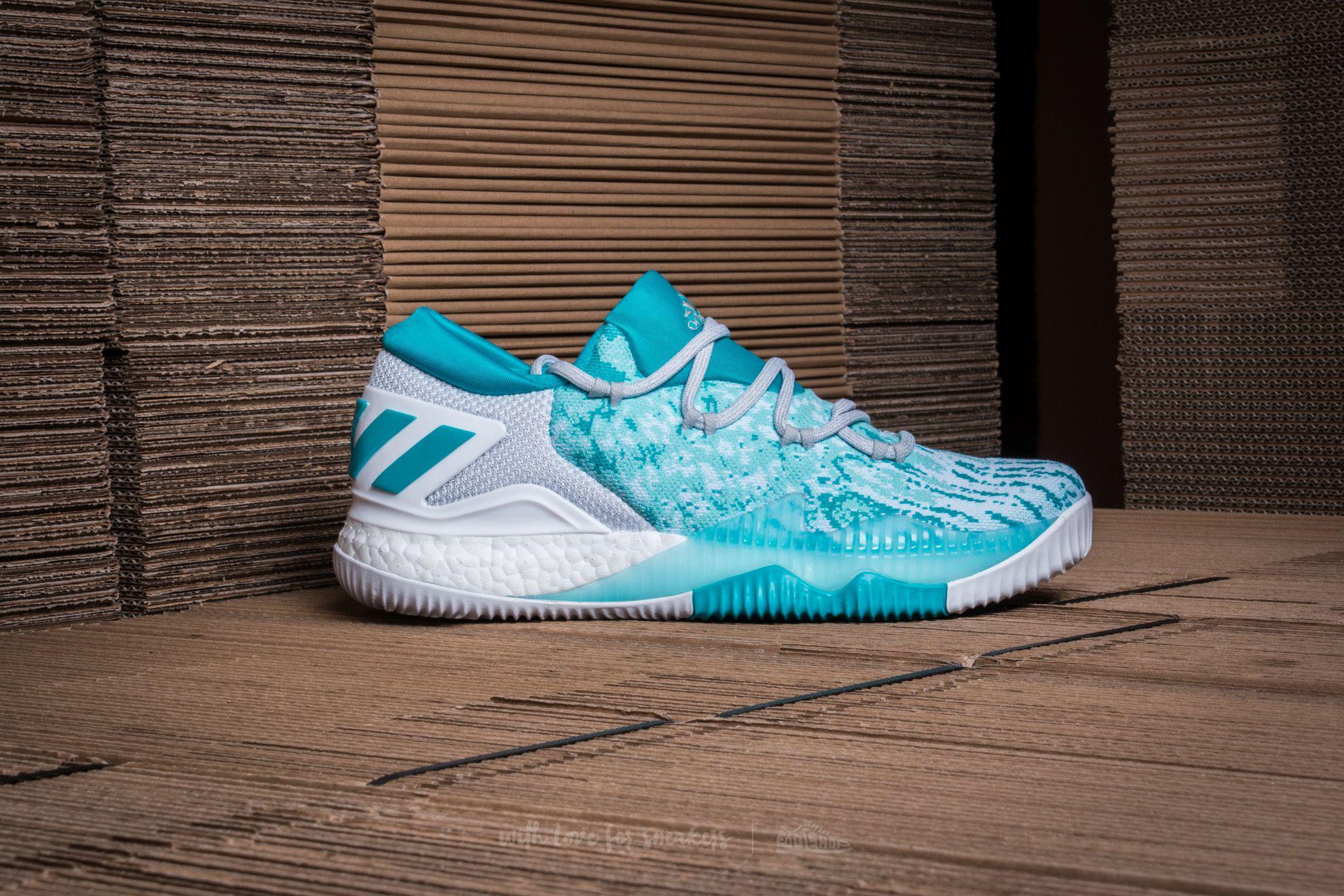 hot sales ccb6a d99fb Lyst - adidas Originals Adidas Crazylight Boost Low 2016 Cle