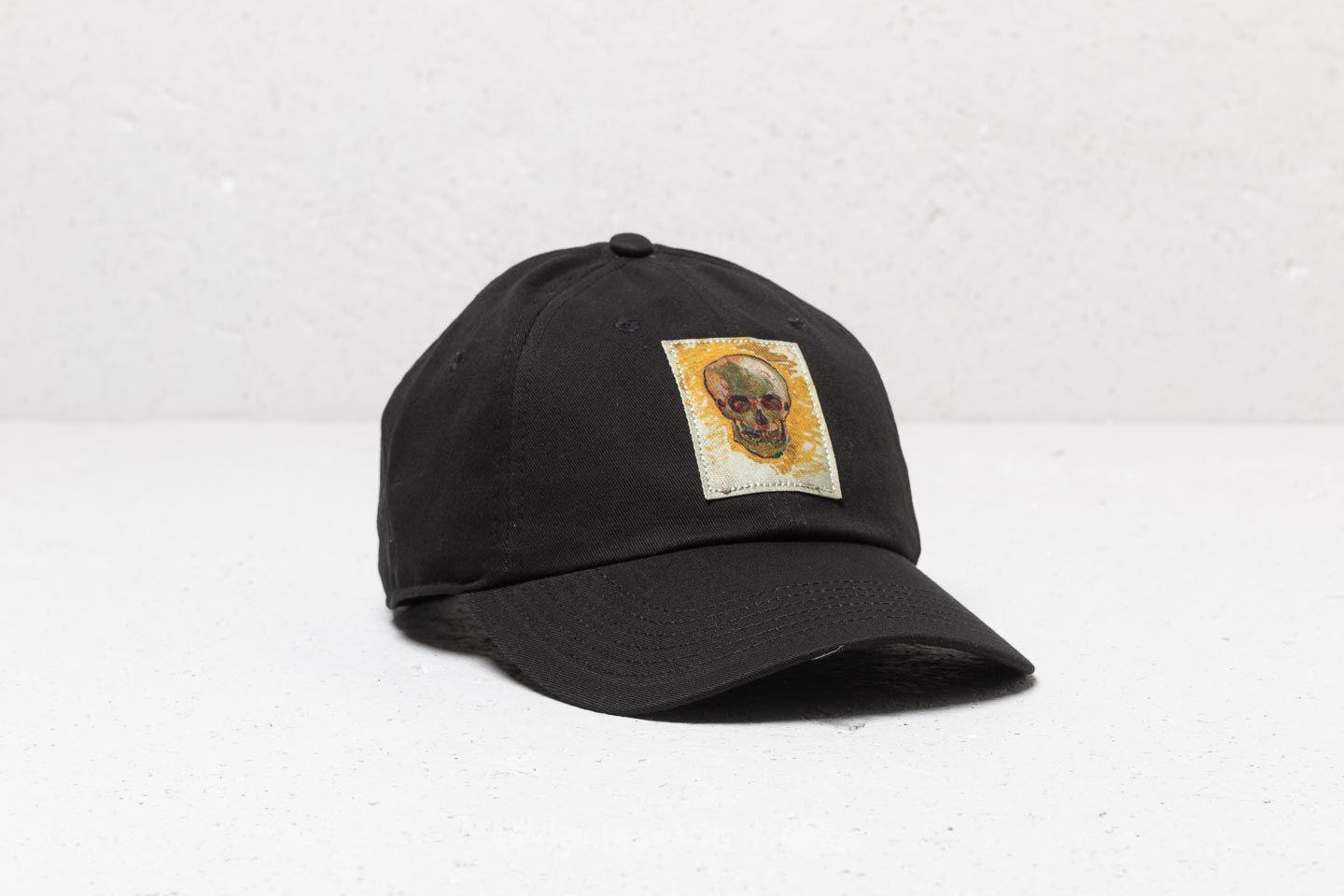 f485737d94fcb4 Lyst - Vans X Van Gogh Skull Strapback Black in Black for Men