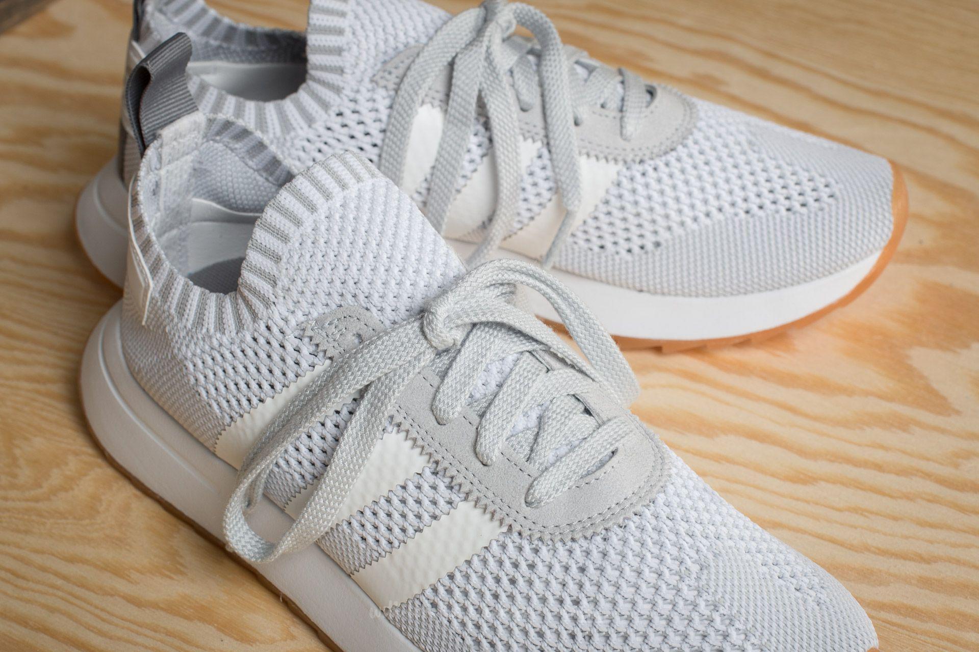 new product e60ac 05e75 Lyst - adidas Originals Adidas Flashback W Primeknit Ftw Whi