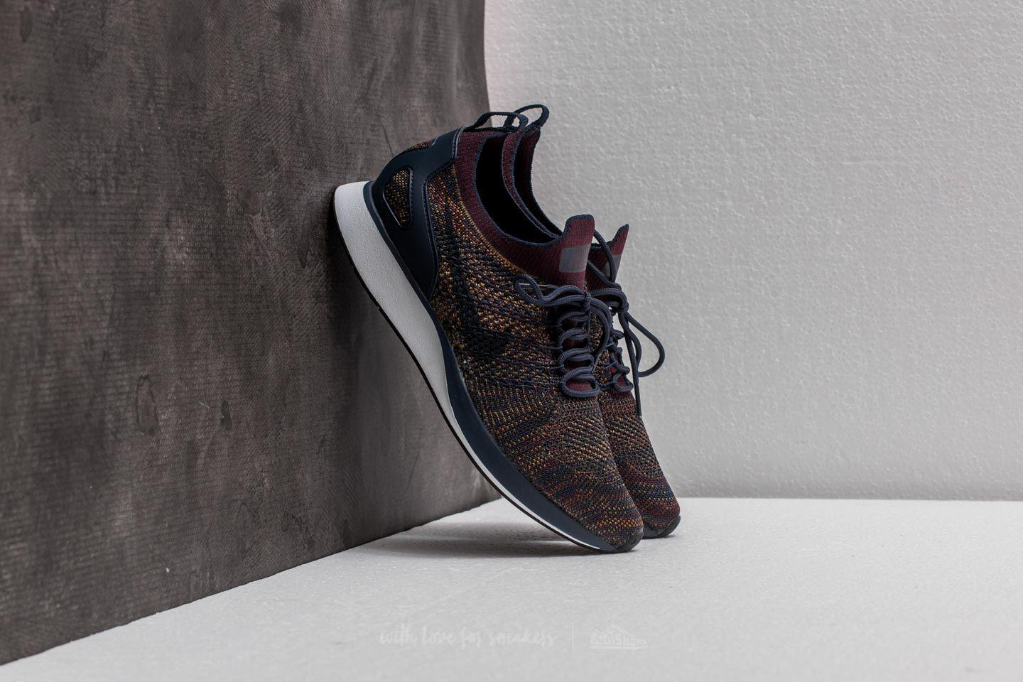 Lyst - Nike Air Zoom Mariah Flyknit Racer College Navy  Bordeaux in ... 2b6e740b4