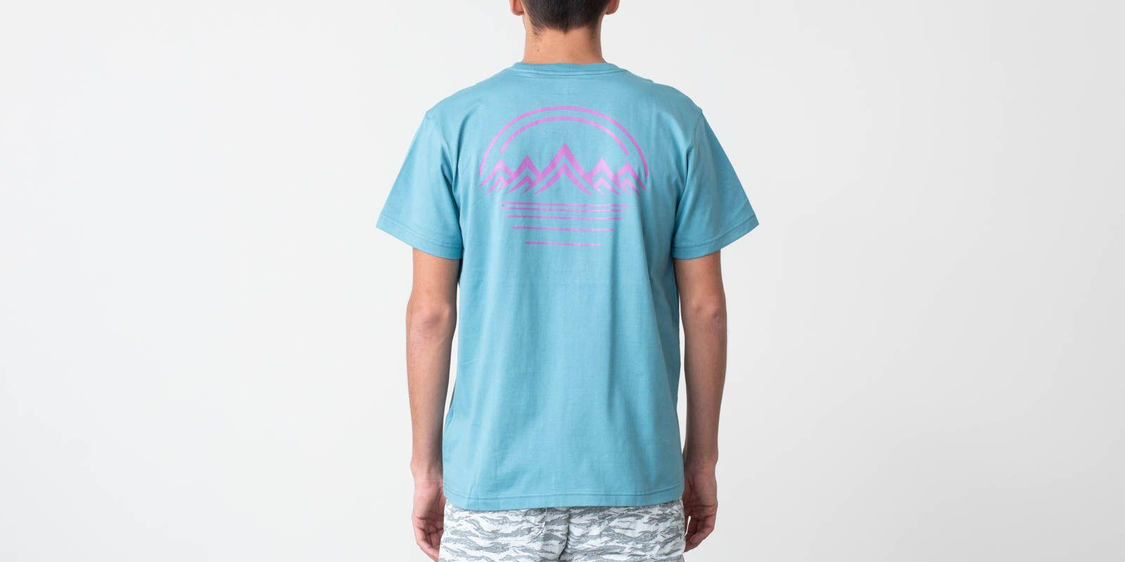 aed24392b Lyst - Asics Ymc Shortsleeves Tee Gris Blue in Blue for Men