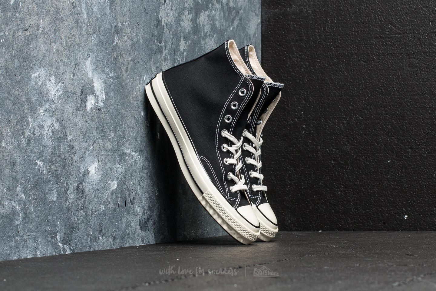 Converse - Chuck Taylor All Star 70 Hi Black  Black  Egret for Men -. View  fullscreen 1e64df0ae