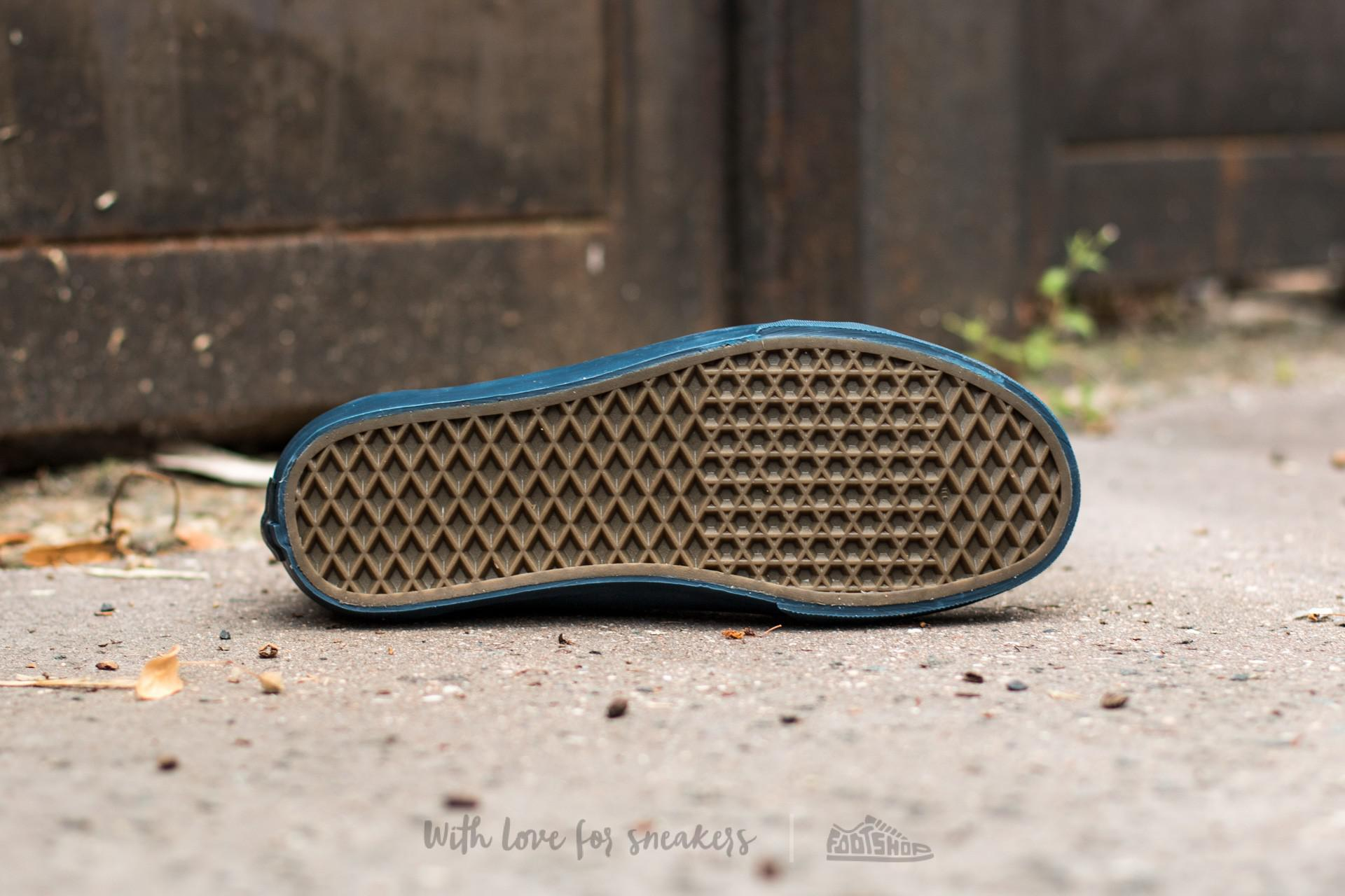 6c4ff1cc74 Lyst - Vans Old Skool Reissue (leather) Midnight Navy in Blue for Men