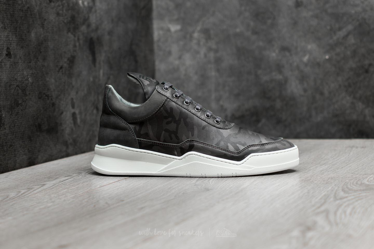 8ff7f7a981879 Filling Pieces Low Top Ghost Camo Black for Men - Lyst