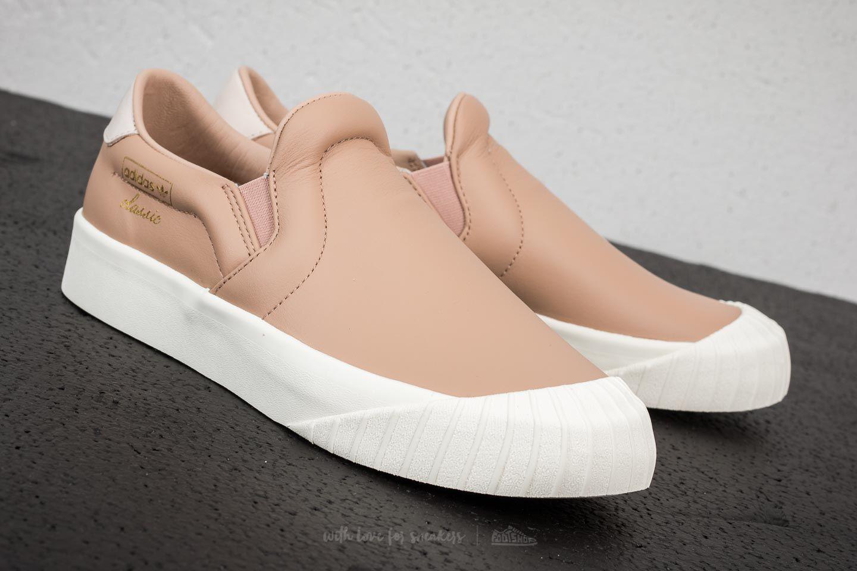 56a9c18968d Lyst - adidas Originals Adidas Everyn Slip-on W Ash Pearl  Ash Pearl ...