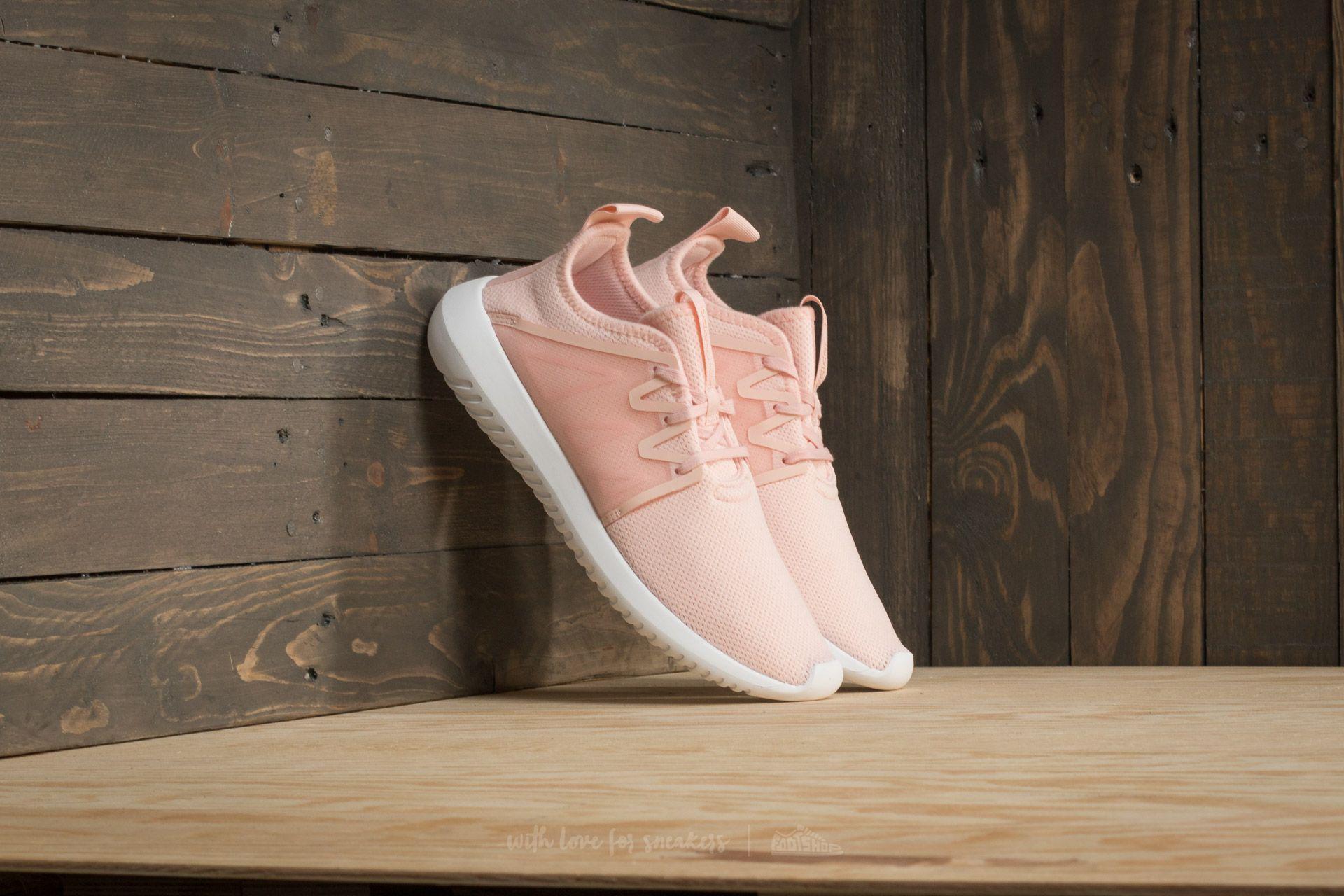 lyst adidas originali adidas tubulare virale w ghiaccio rosa / ghiaccio