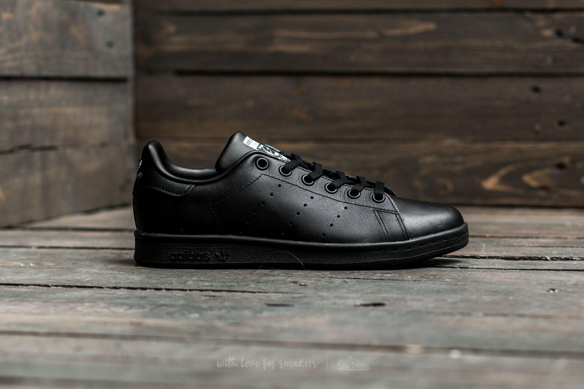 stan smith junior black