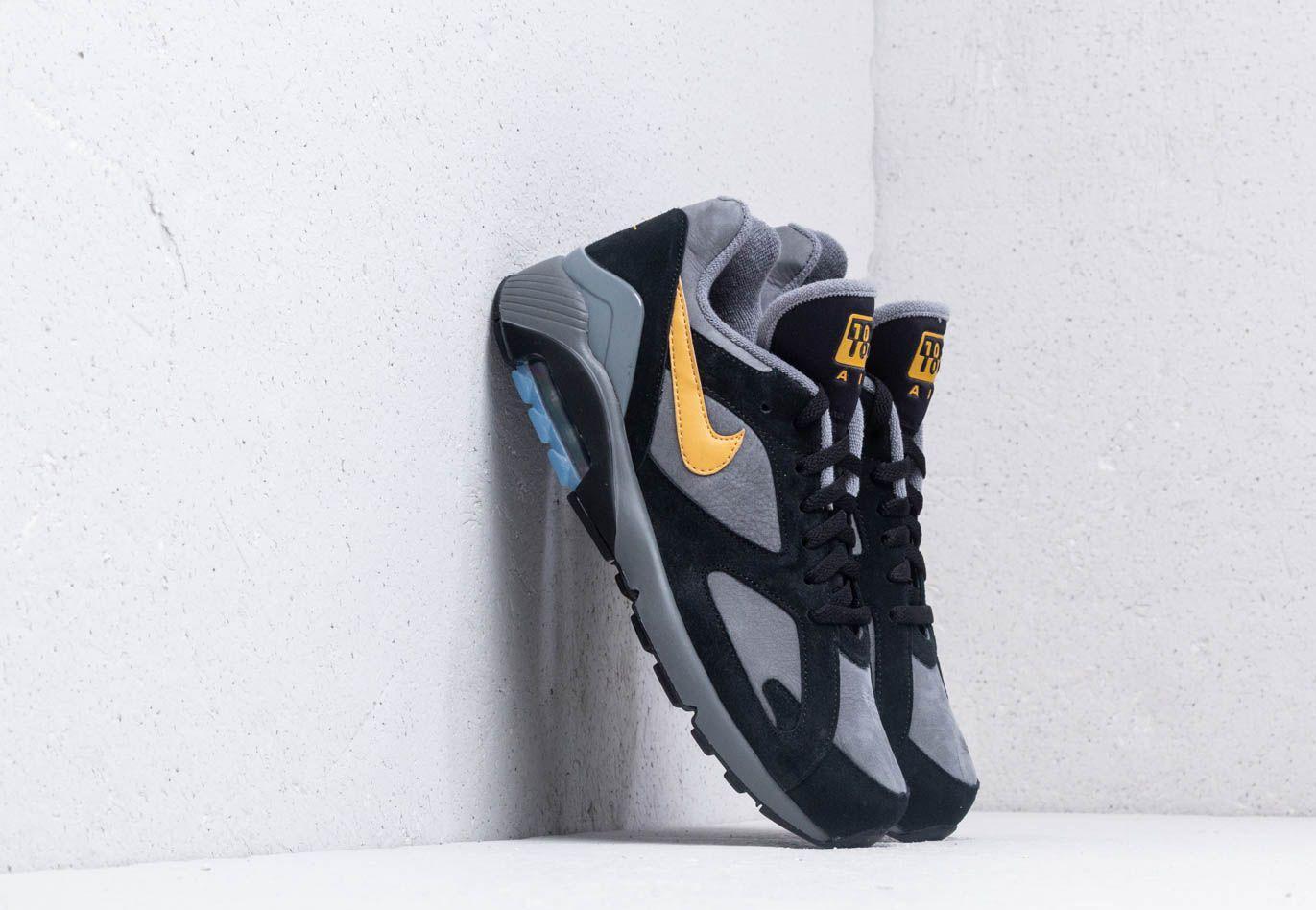 571f1bd954ba Nike - Gray Air Max 180 Cool Grey  Wheat Gold-black for Men -. View  fullscreen