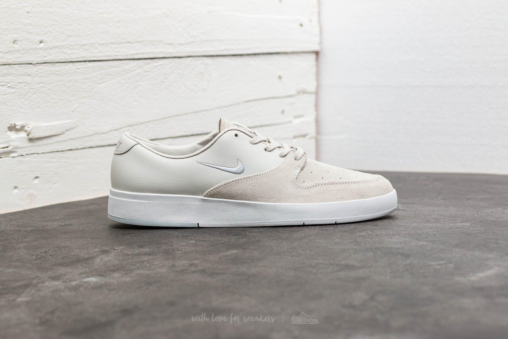 73d020825ebbc ... hot lyst nike sb zoom p rod x white pure platinum black in white for men