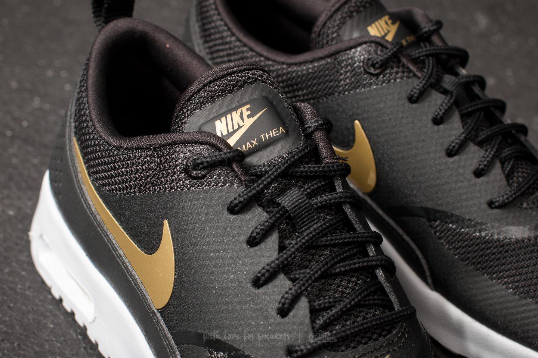 Lyst - Nike Wmns Air Max Thea J Black  Metallic Gold-white in Metallic c0981fd3b920