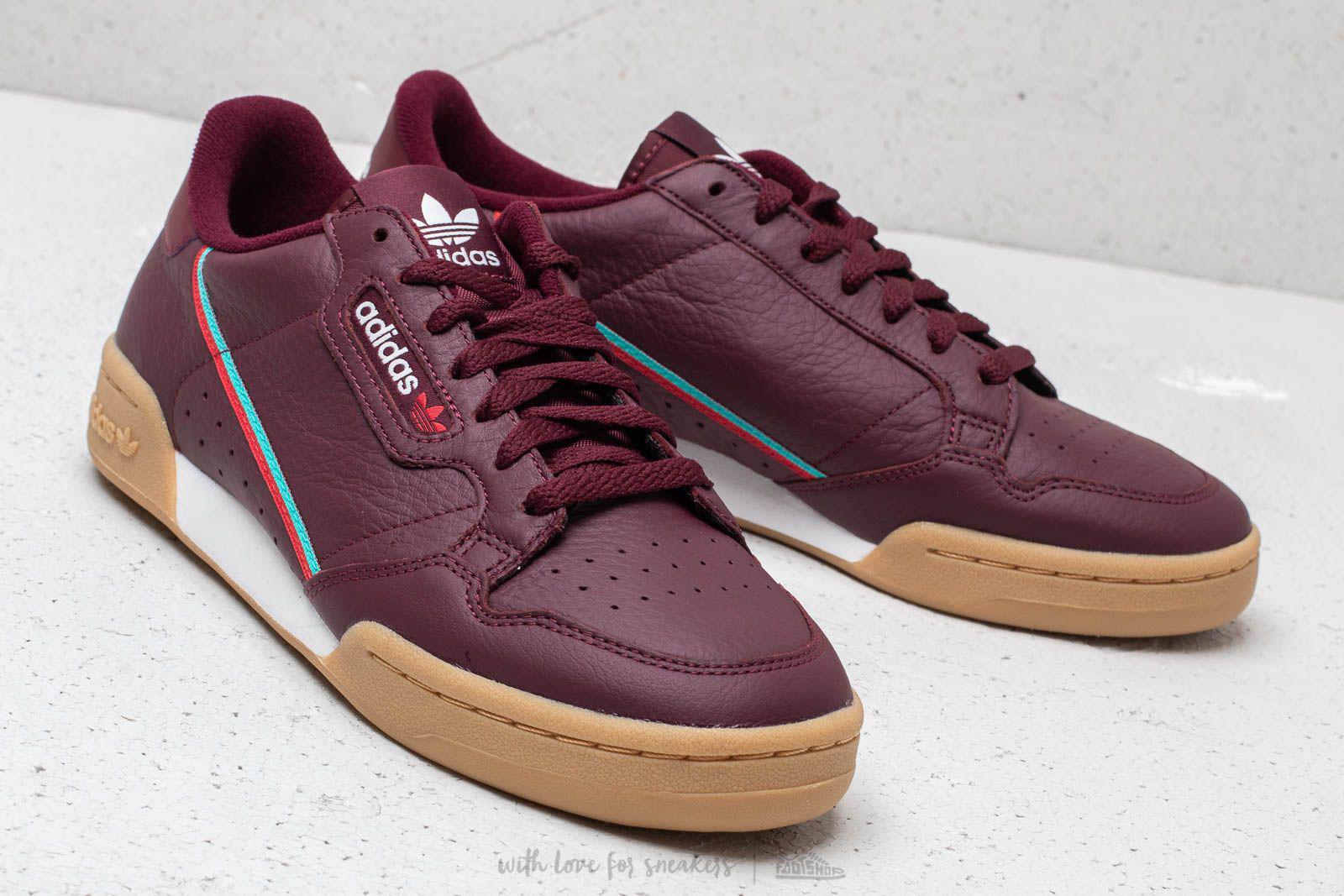 huge selection of 686b8 4c7f9 Lyst - adidas Originals Adidas Continental 80 Collegiate Bur
