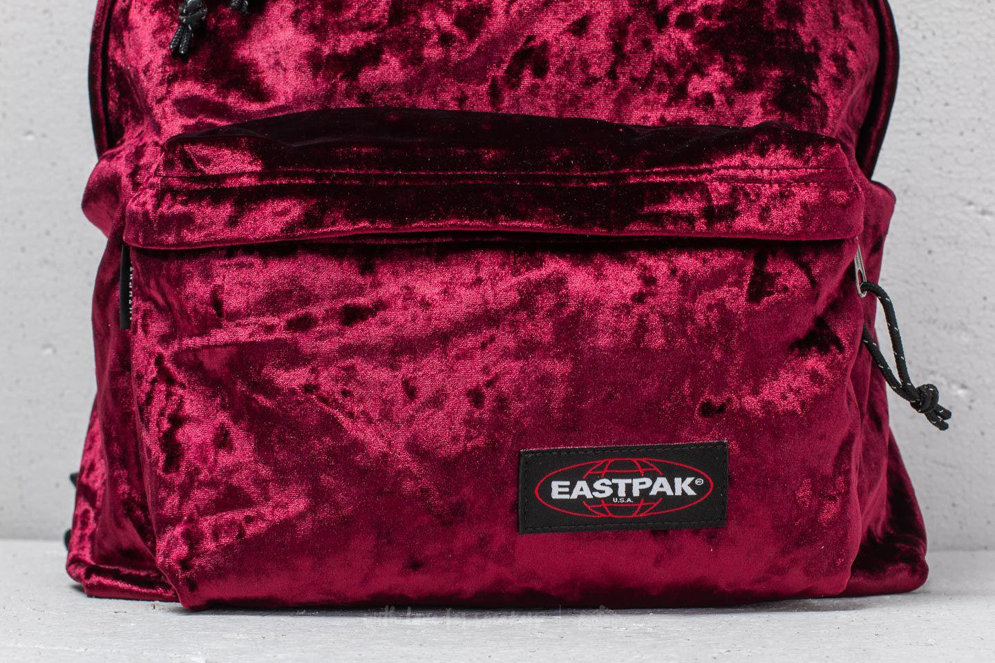 Crushed Red Padded Merlot Footshop Backpack Lyst In Pak'r Eastpak qw61RfB