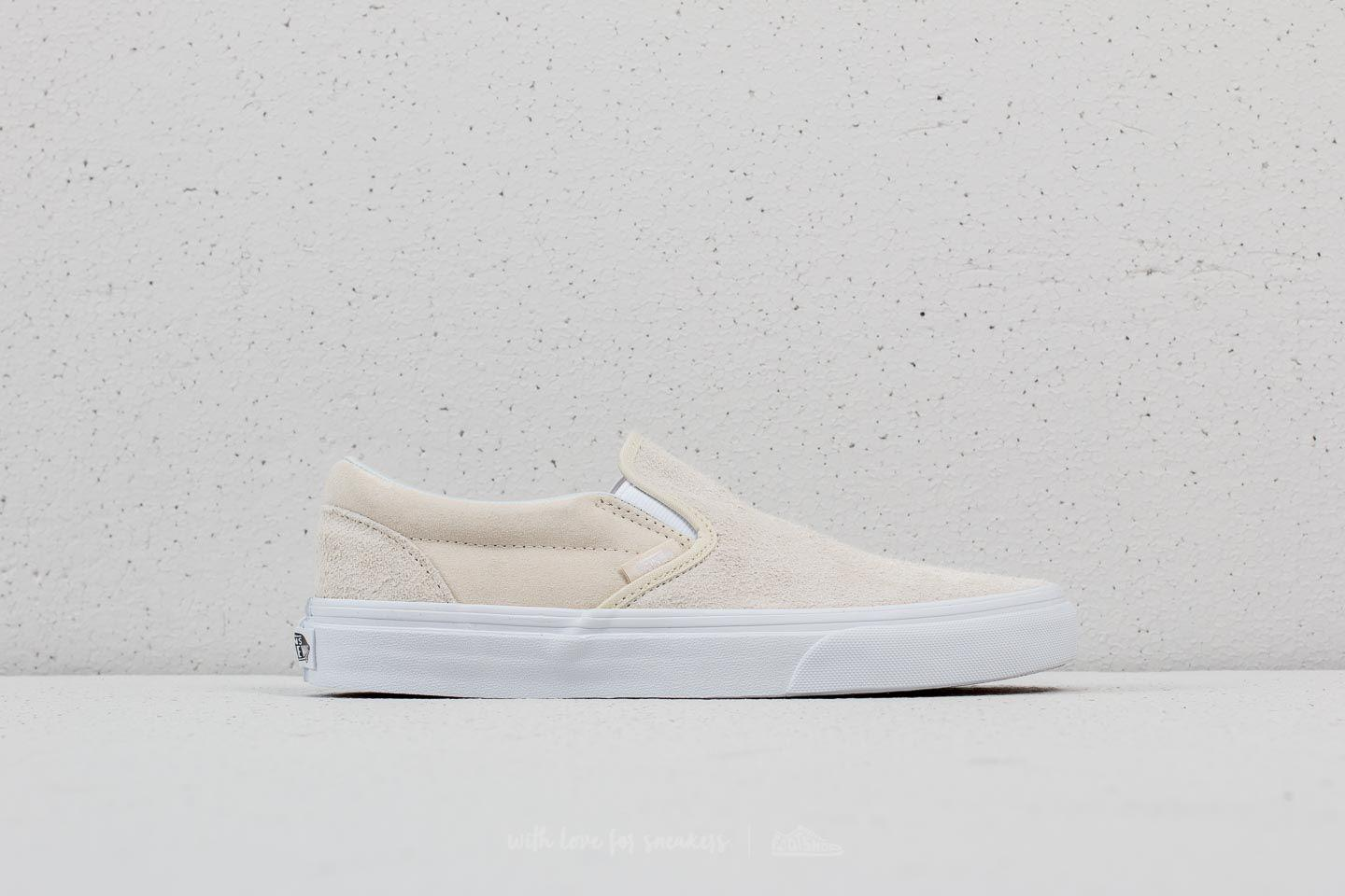 1e9228eb856 Lyst - Vans Classic Slip-on (hairy Suede) Turtledove for Men
