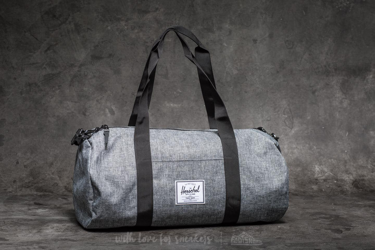 Lyst - Herschel Supply Co. Sutton Mid- Volume Duffle Bag Raven ... efc07442aecad