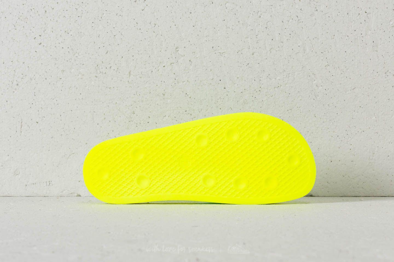 bf3d7f68241bb Lyst - adidas Originals Adidas Adilette Lilo W Solar Yellow  Clear ...