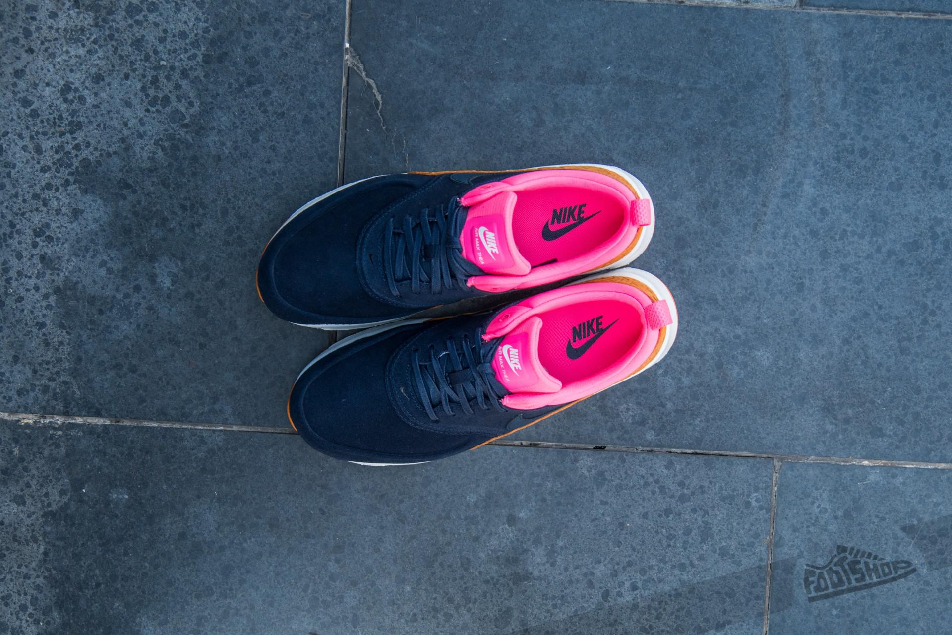 Nike W Air Max Thea Premium Leather Obsidian Obsidian