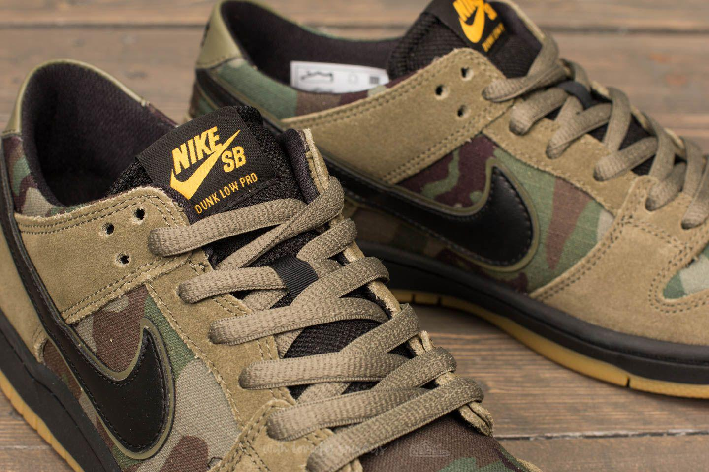 e7798827bd962a ... forty two skateboard shop b738f 2aff5  amazon lyst nike sb zoom dunk  low pro medium olive black for men c7d32 38648