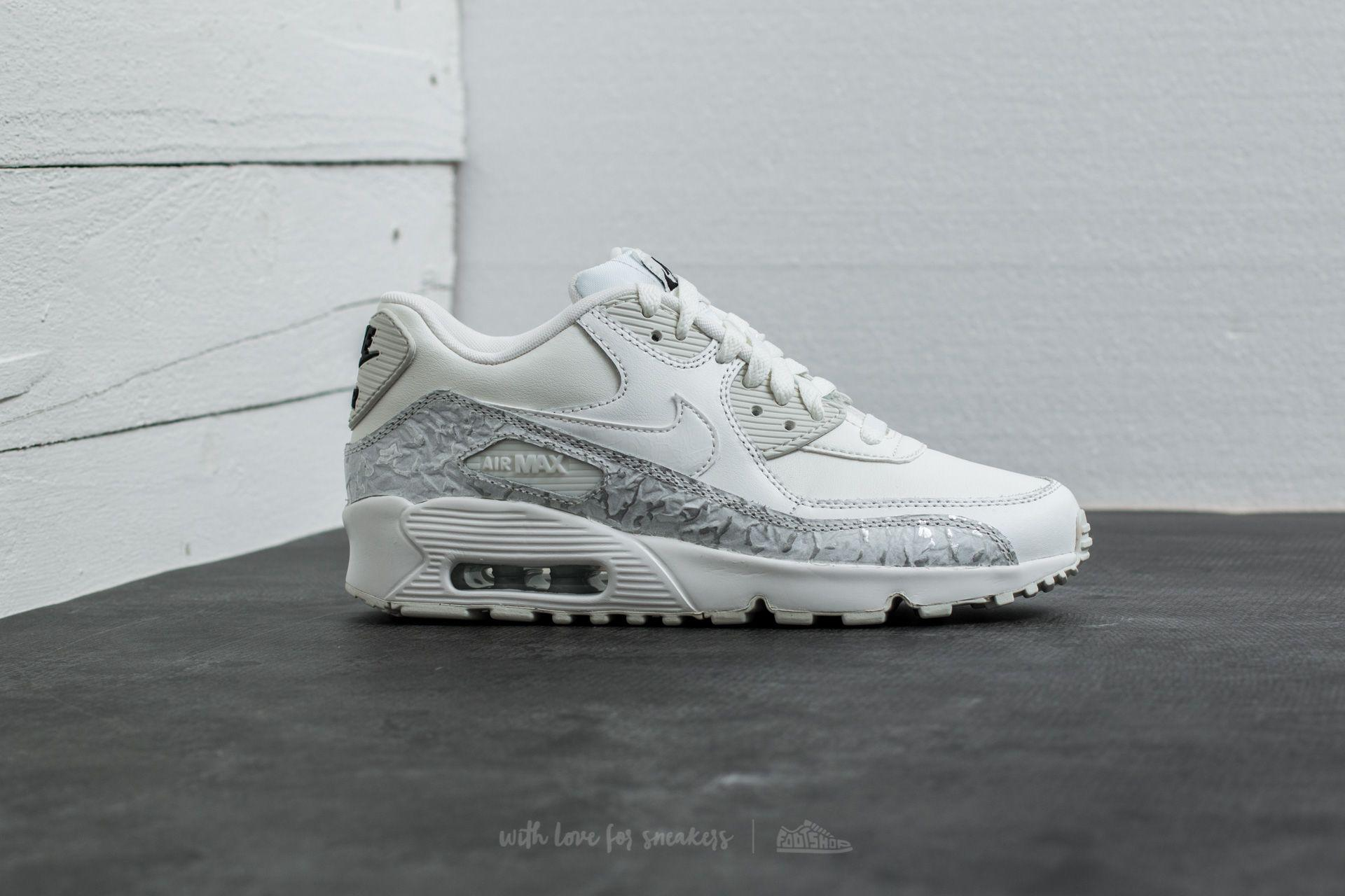 promo code 5f262 00296 Nike Air Max 90 Leather Se (gg) Summit White  Summit White in White ...