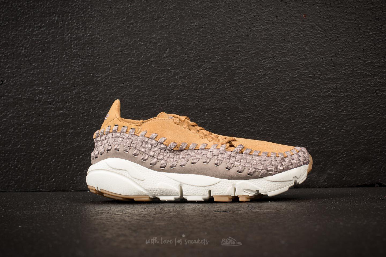Nike Wmns Air Footscape Woven Elemental Gold/ Sepia Stone XCidq