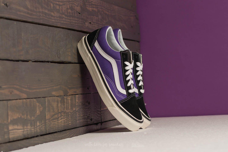 74b1d3778afc Lyst - Vans Old Skool 36 Dx (anaheim Factory) Black  Bright Purple ...