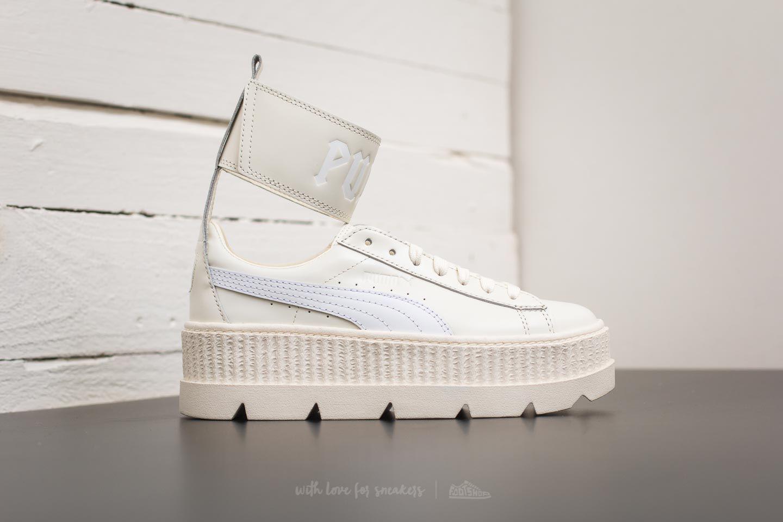 Lyst - Footshop Puma Fenty Ankle Strap Sneaker Wn ́s Vanilla Ice ... 65f00fded