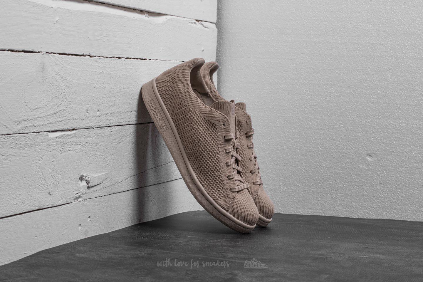 lyst adidas originali adidas stan smith primeknit clay brown / clay