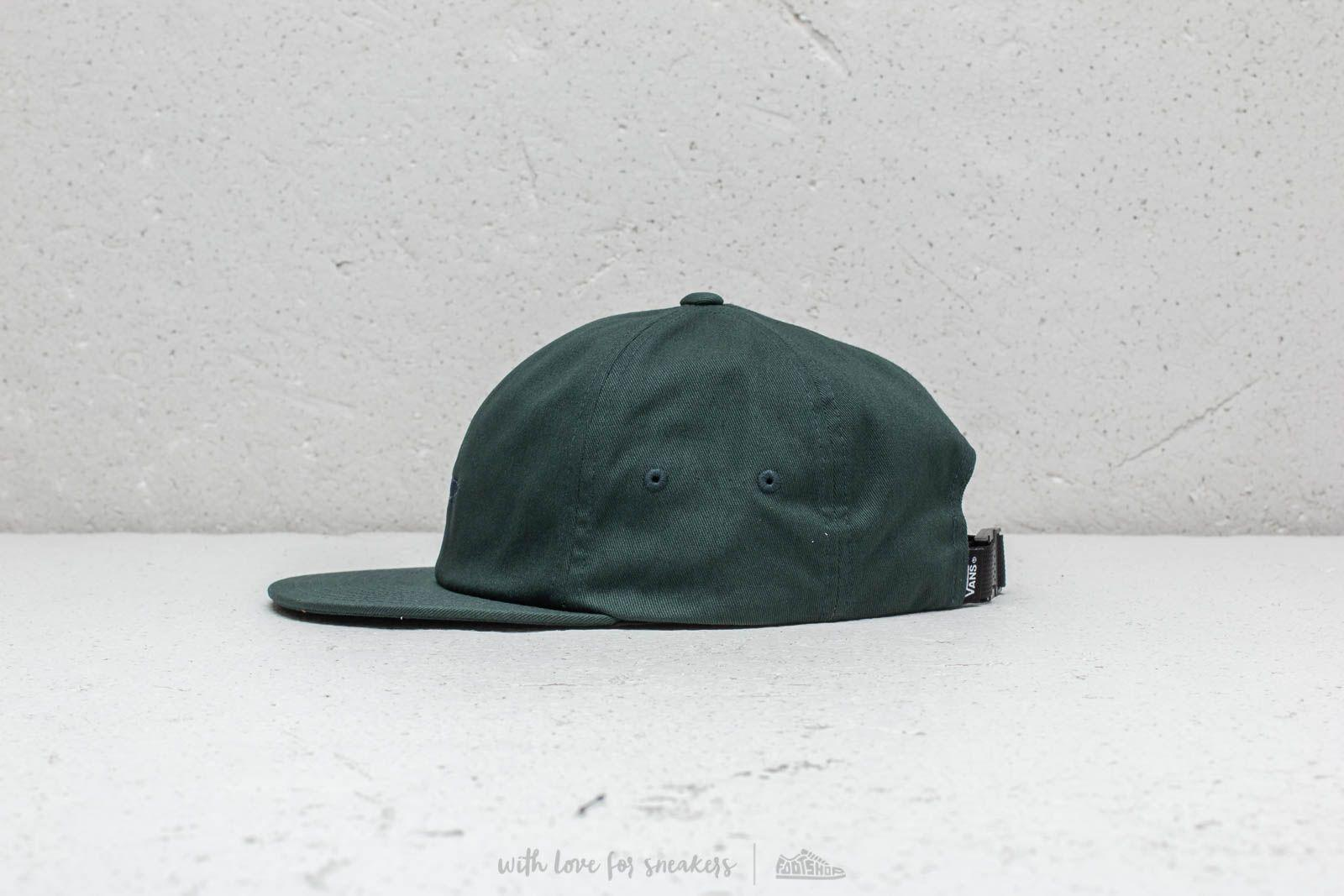 ecccef7b Lyst - Vans Salton Ii Cap Darkest Spruce in Green for Men
