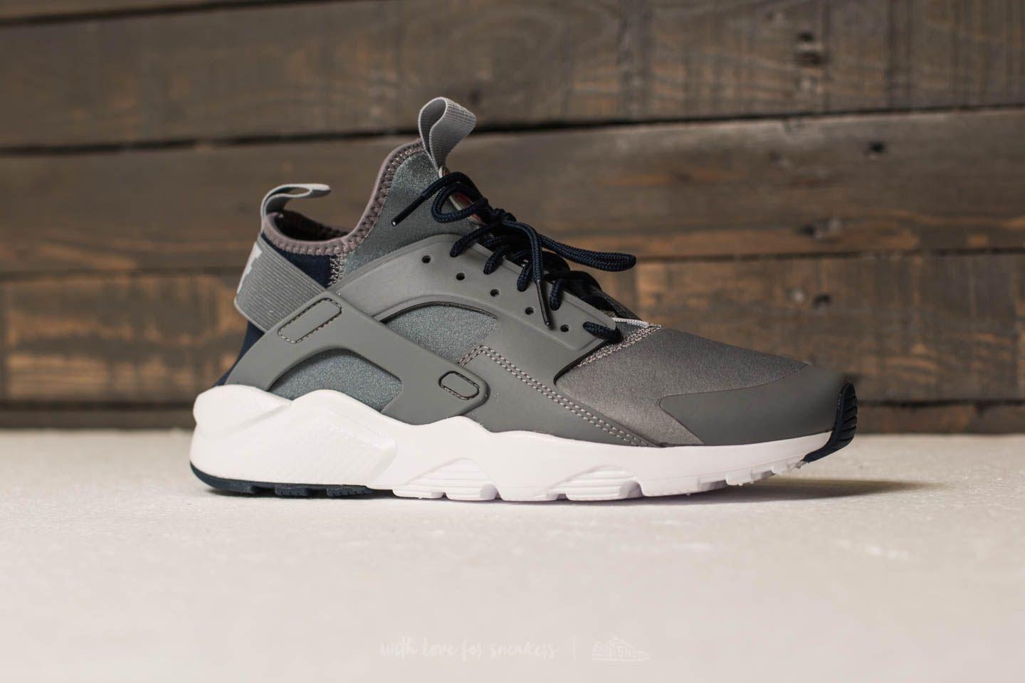 Lyst - Nike Air Huarache Run Ultra Cool Grey  Wolf Grey-obsidian in ... 2b01c21c8d