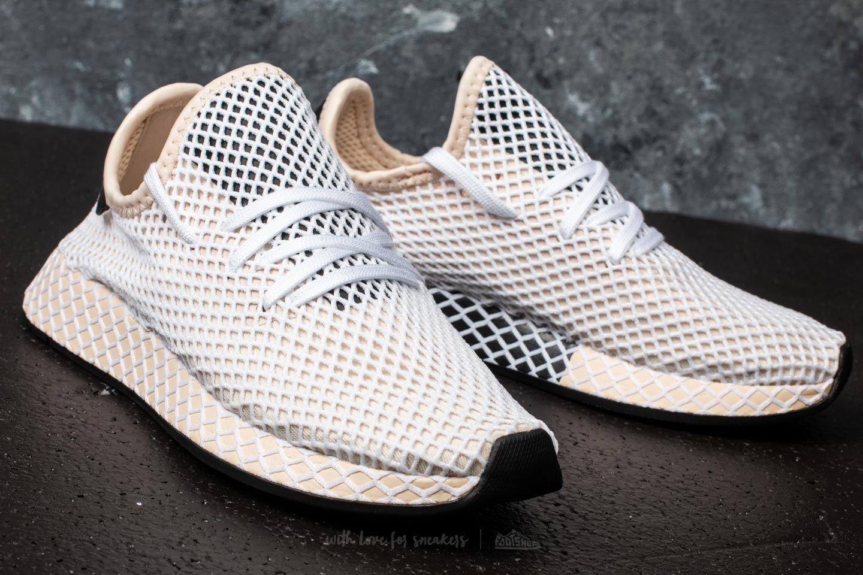 newest 24dd6 5e9e5 Lyst - adidas Originals Adidas Deerupt Runner W Linenlinenec