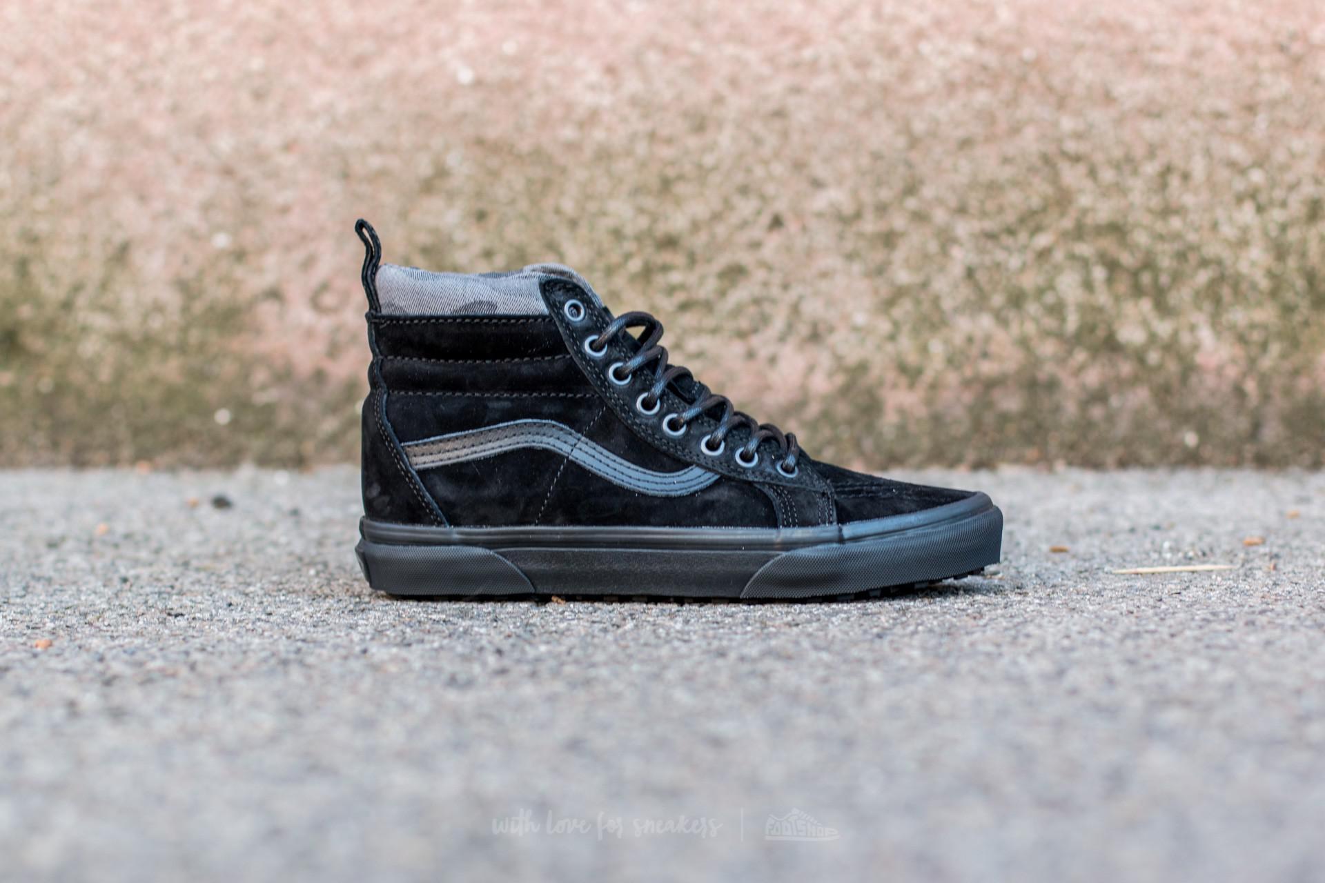 1d06ae1cb5 Lyst - Vans Sk8-hi Mte (mte) Black  Black  Camo in Black