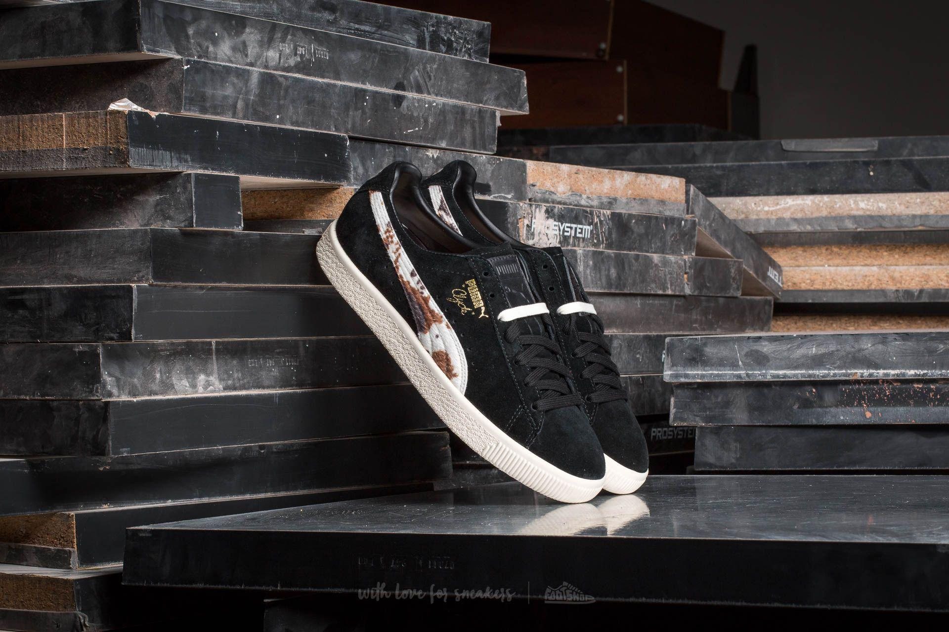 cfe4ea3d0ae2 Lyst - Puma Clyde X Packer Black-whisper White in Black