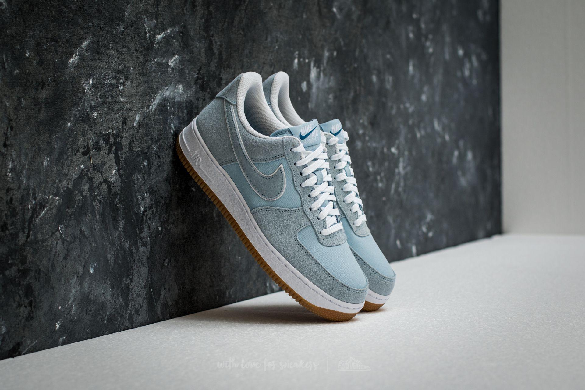 hot sale online aee9a 52fa9 Nike Air Force 1 ́07 Light Armory Blue  Blue  Light Armory Blue in ...