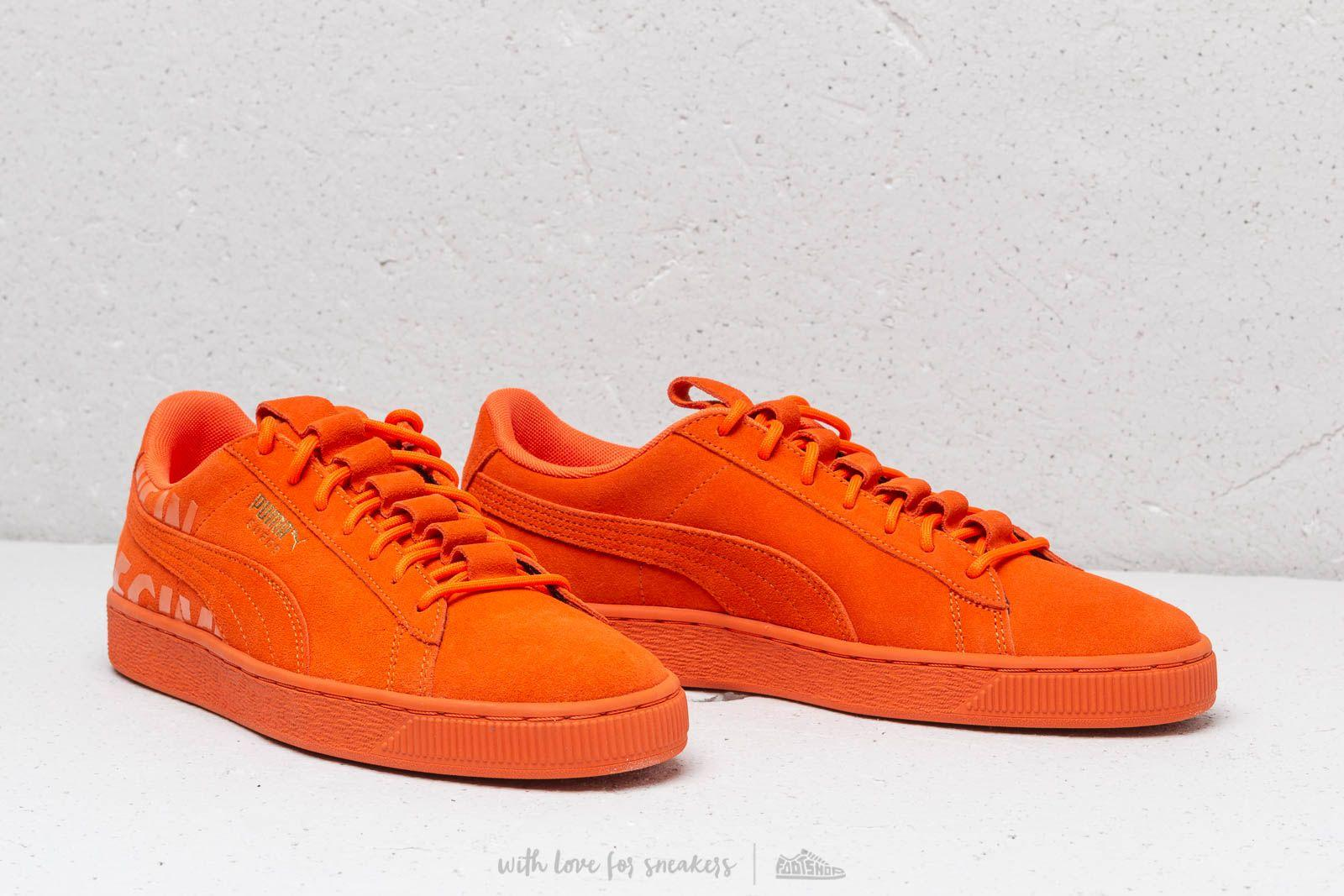 0d6f83601c5 PUMA - Orange X Atelier New Regime Suede Scarlet Ibis  Scarlet Ibis for Men  -. View fullscreen