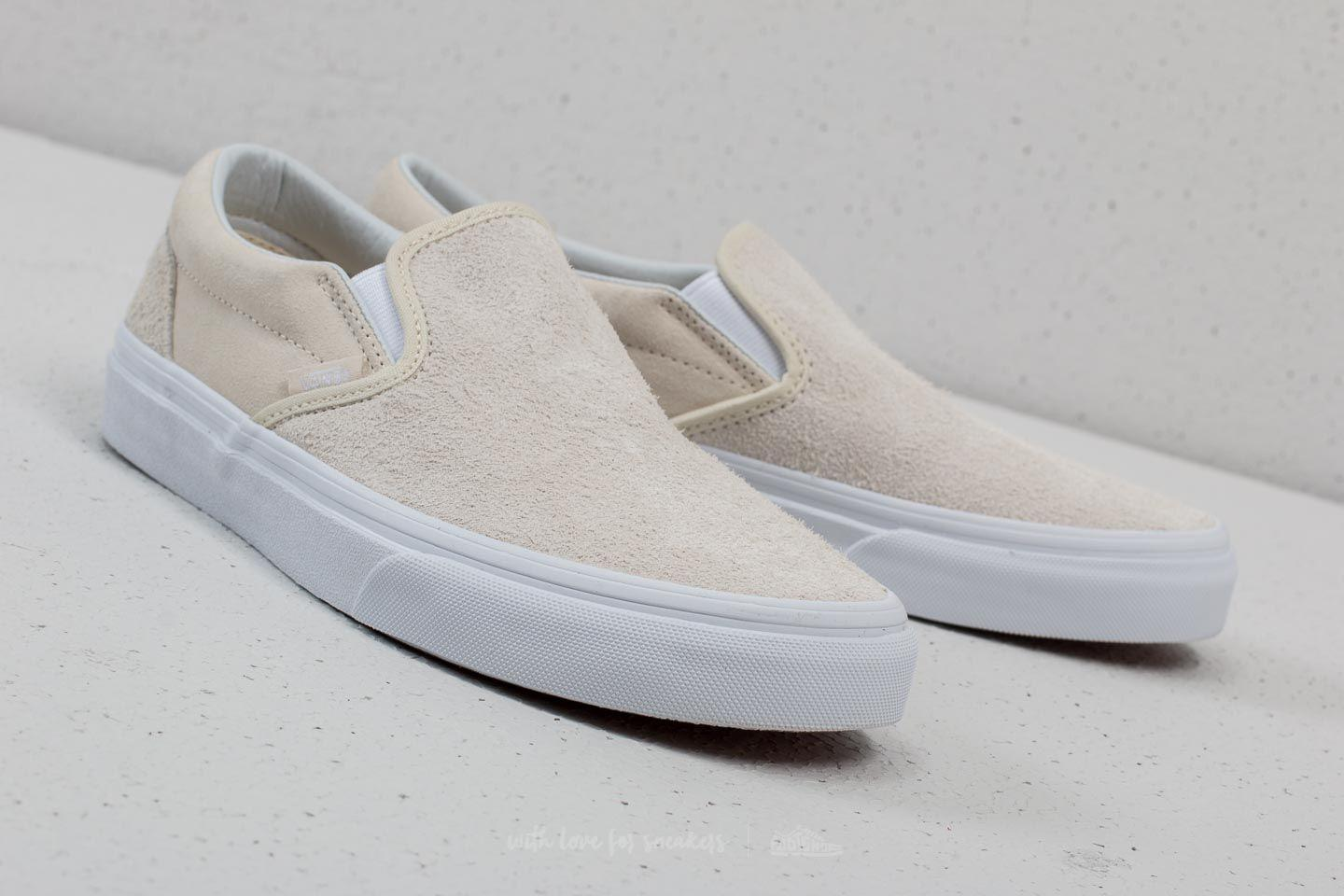 dc9cfd543b Lyst - Vans Classic Slip-on (hairy Suede) Turtledove for Men