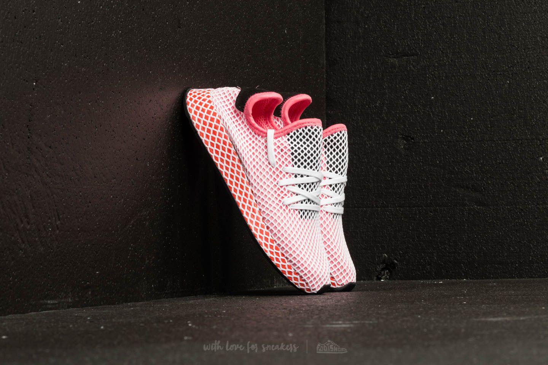 00e2dbae4 Lyst - adidas Originals Adidas Deerupt Runner W Chalk Pink  Chalk ...