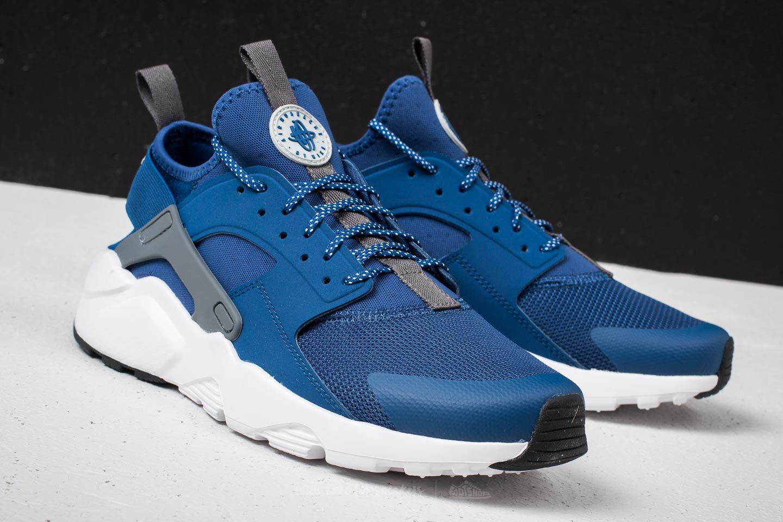 91f31cd7ddb1 Lyst - Nike Air Huarache Run Ultra Gym Blue  Wolf Grey-white in Blue ...