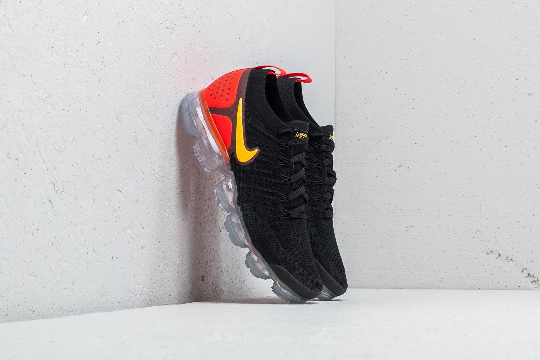 Lyst - Nike Air Vapormax Flyknit 2 Black  Laser Orange for Men a12c4bde13