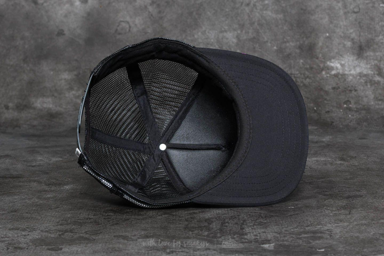 ab64e4ff124 Lyst - Vans Lawn Party Trucker Hat Black Cat in Black