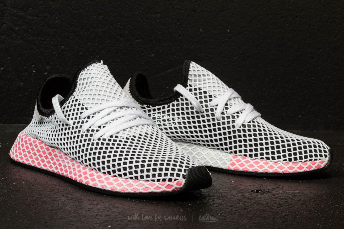 meet 0512c 08dae Lyst - adidas Originals Adidas Deerupt Runner W Core Black C