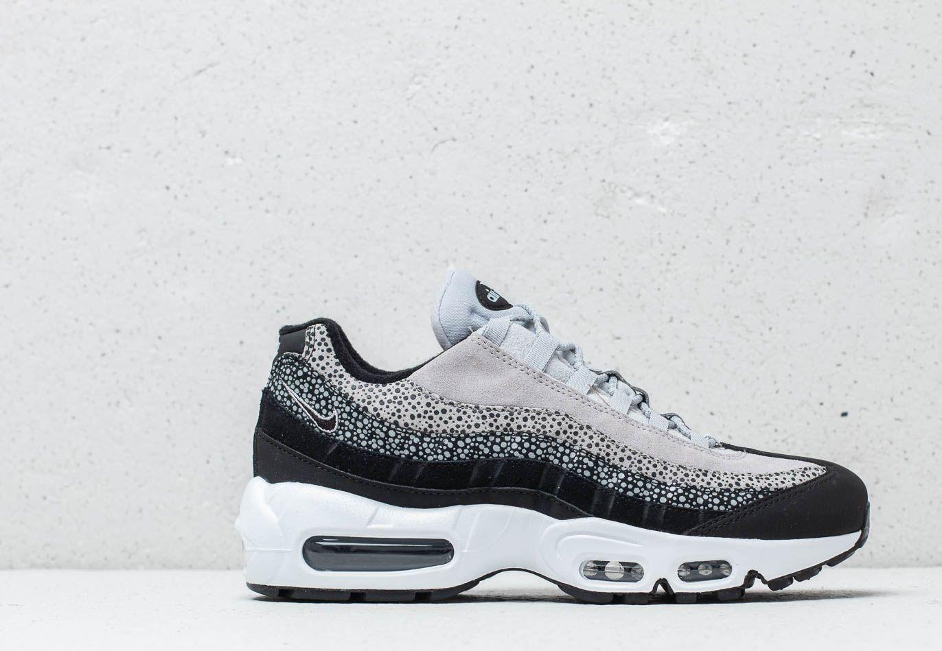 0391b0b5f1 Nike Wmns Air Max 95 Premium Black/ Black-wolf Grey-white in Black ...