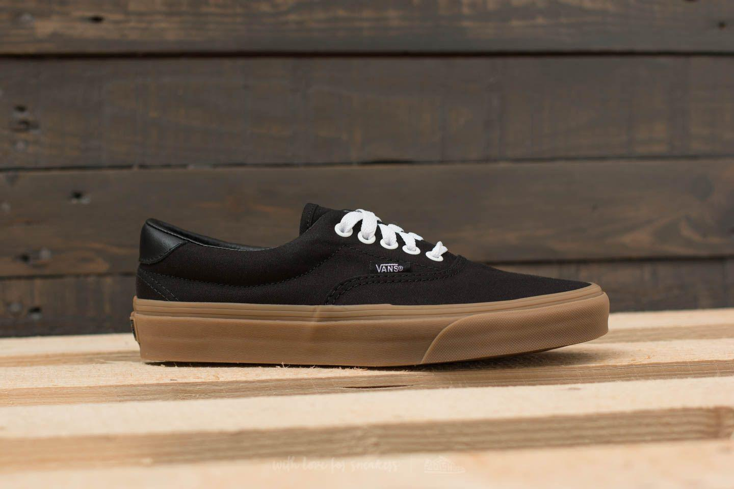 e791abf01c0d Lyst - Vans Era 59 (canvas Gum) Black  Light Gum in Black for Men