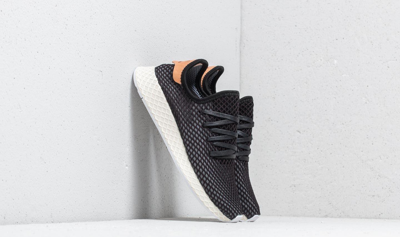 f4a2da422c8bb Lyst - adidas Originals Adidas Deerupt Runner Core Black  Core Black ...