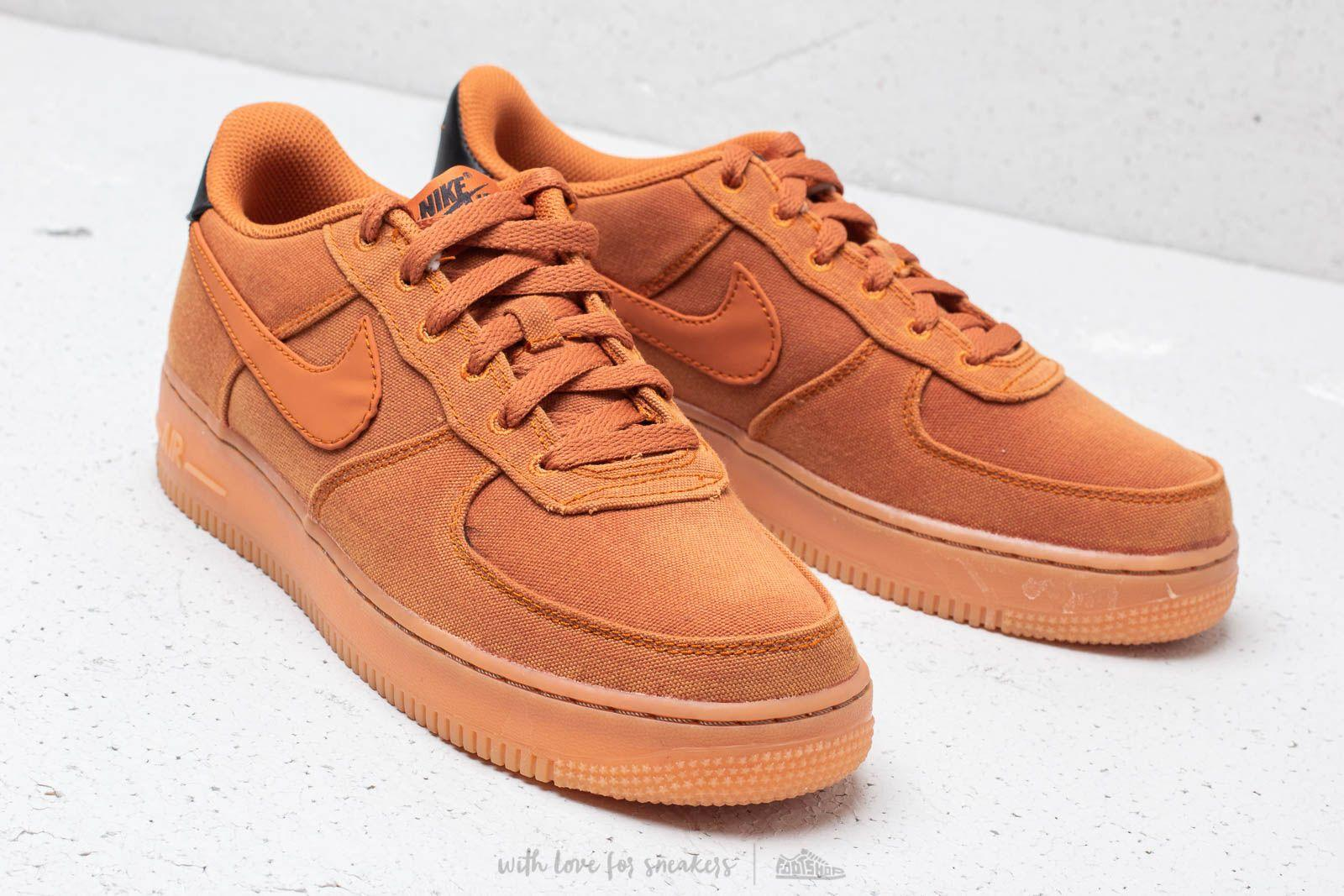 on sale b2fda 4e3b6 Nike Air Force 1  07 Lv8 Style Monarch  Monarch-gum Med Brown in ...