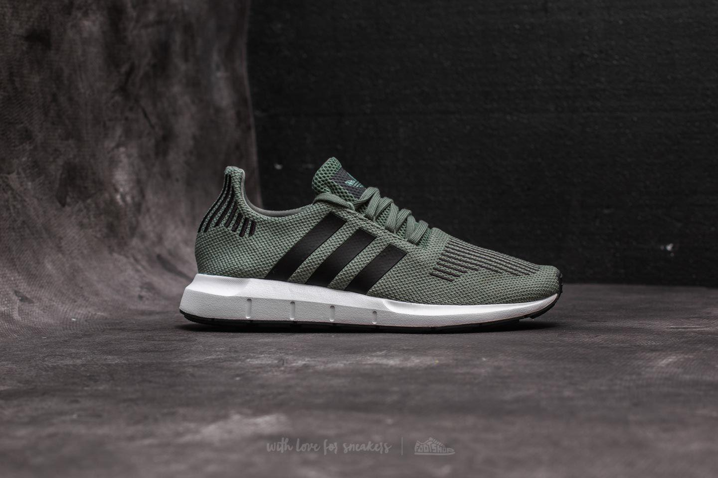 2b8943355e019 ... shoes green  Lyst - Adidas Originals Adidas Swift Run J Trace Green  Core Black ... adidas Men ...
