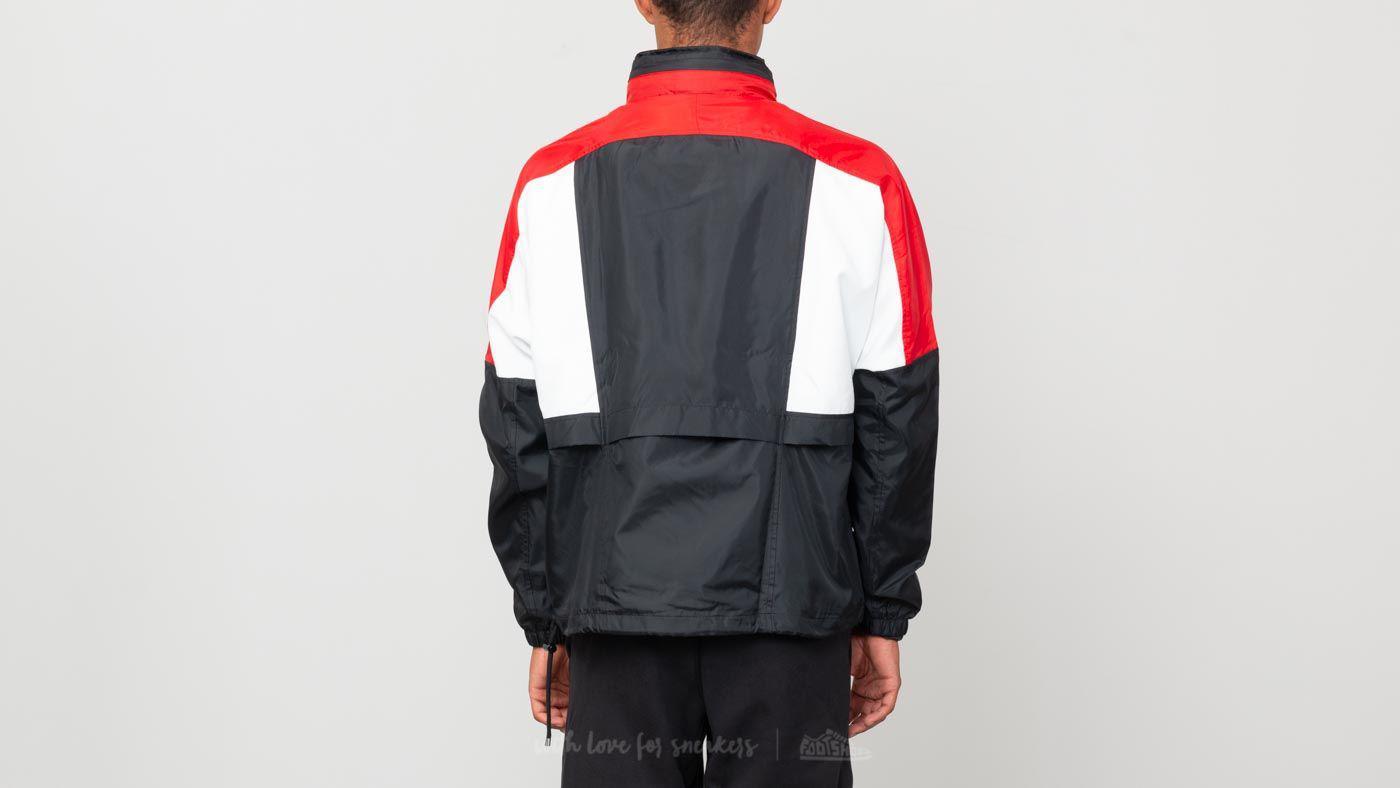 7bedf07a1 Nike Sportswear Re-issue Woven Jacket Black/ University Red/ Summit ...