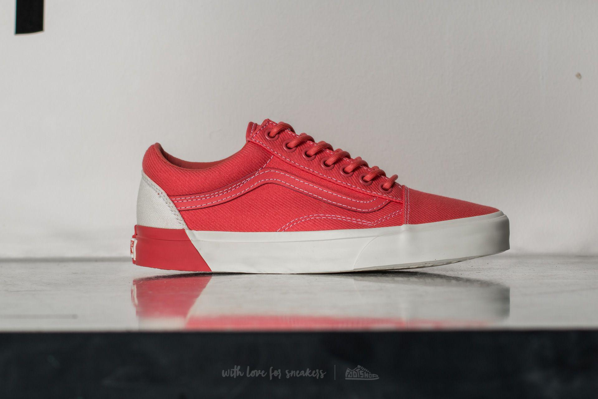 e4794ea4d260 Lyst - Vans Old Skool Dx (blocked) Classic White  D in Red for Men