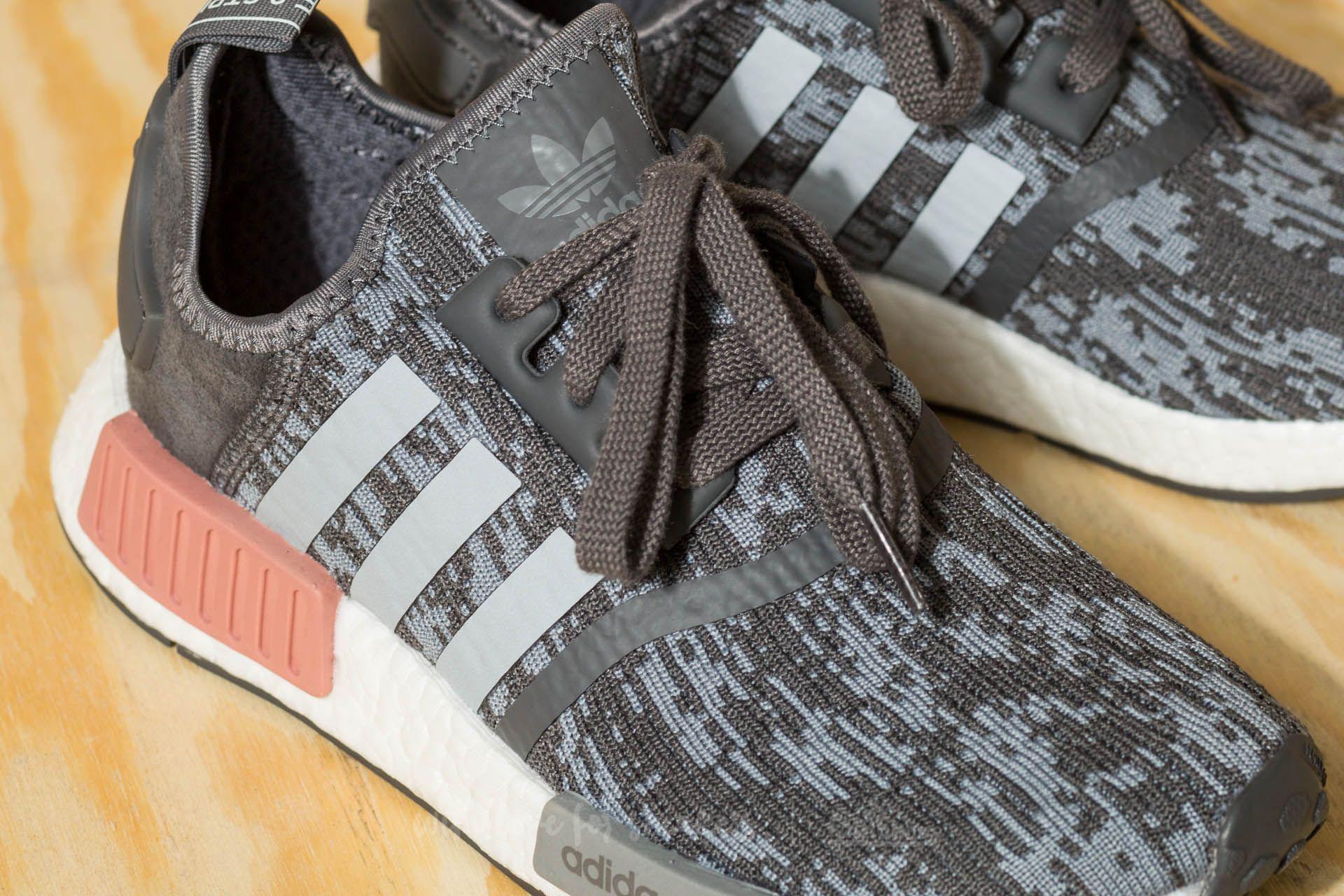 size 40 55c60 c92c6 adidas nmd r1 grey heather raw pink shoes